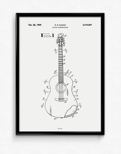 Guitar Acoustic - Available at www.bomedo.com
