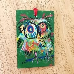 Merry Morepork/Owl Decoration Green (1) Nativity, Fun Facts, Gift Wrapping, Owl, Merry, Decoration, Green, Christmas, Gifts