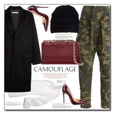 """""""Street Style"""" by littlefeather1 ❤ liked on Polyvore featuring Faith Connexion, Givenchy, Christian Louboutin, Tory Burch, topsets and polyvoreeditorial"""