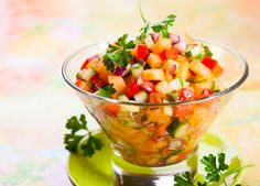 Healthy Melon Salsa Recipe – Kayla Itsines