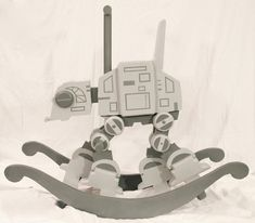 Get your young padawan into Star Wars from a young age by building one of these geektastic Star Wars AT-AT rocker using this template. The template provides...