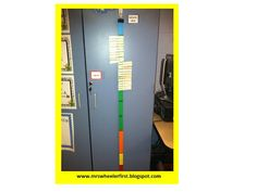 Behavior yardstick: this travels with the class to specialists, and everyone in the school uses this system.  I love the consistency.