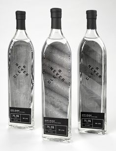 Neverclear grain alcohol packaging by Toni Hall http://www.behance.net/tonihall