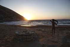 Γυμνοί στη Γαύδο Travel Articles, Celestial, Sunset, Beach, Water, Freedom, Outdoor, Sunsets, Water Water