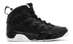 "74872e21c02f49 2017 Air Jordan 9 ""Baseball"" Black Leather Cheap"