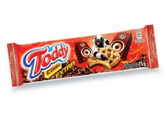 Embalagem com layout bem descolado e colorido do Toddy.