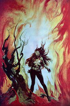 FRANK FRAZETTA - The Torture Garden by Octave Mirbeau - 1965 Lancer Books