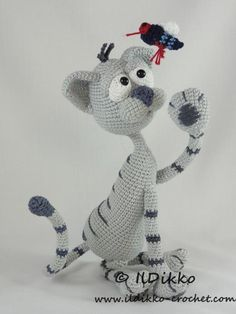Kit the Cat - Amigurumi Pattern | Craftsy