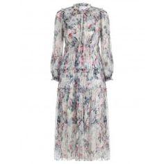 Jasper Floral Ruffle Dress