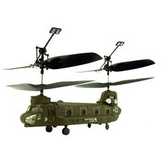 UNITED CUTLERY Micro Chinook Cargo RC Helicopter with Remote Control UCK1587
