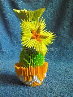 Cactus modules origami