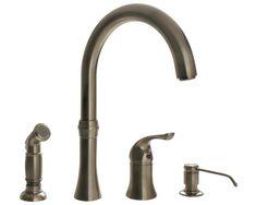 Moen 90 Degree Kitchen Faucet  Kitchen  Pinterest  90 Degrees Pleasing 4 Hole Kitchen Faucet Review