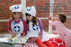 Nurse Nancy || sewpony #sewing #costume