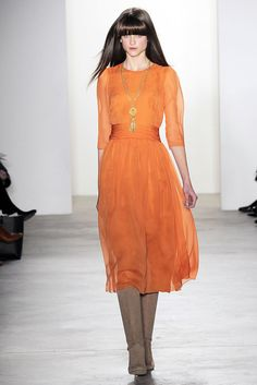 Erin Fetherston Fall 2010 Ready-to-Wear Fashion Show - Kate Kondas