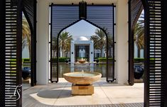 The wood grills are to die for | Chedi Muscat | Luxury Hotels Travel+Style