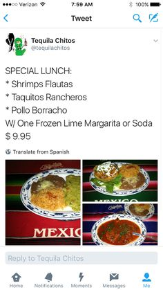 Special Lunch: