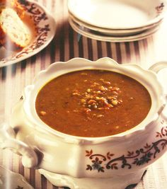 Dié maklike groentesop is perfek vir die winter! Apple Cake Recipes, Dessert Recipes, Desserts, South African Recipes, Ethnic Recipes, Soup Recipes, Peanut Butter, Favorite Recipes, Postres