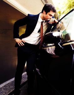 Ian Somerhalder... In this suit... Posing like this... I think life would be complete.