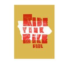 Iowa / Ride Your Bike / The Social Dept.