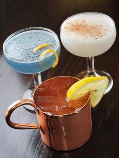 Drinks capture mood, spirit of Olympics