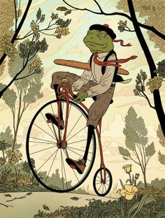 For sale! Froggy! #INPRNT #illustration #print #poster #art