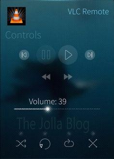 Unofficial VLC Remote Client Now Available For Sailfish OS #Jolla Remote, Apps, Blog, Blogging, App, Pilot, Appliques