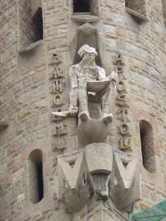 La Sagrada Familia - the Passion Facade - St Bartholomew Antoni Gaudi, Barcelona Travel, Travel Stuff, Travel Abroad, Amazing Places, Places To See, Mount Rushmore, The Good Place, Facade
