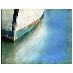 I pinned this Bow Boat Canvas Art from the Coastal Contemporary event at Joss and Main!