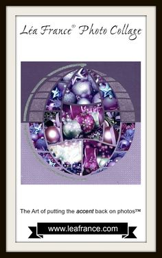 Christmas is just around the corner! Have you put up your Christmas decorations? Well this is the perfect time to take photos and document it in this really pretty Magical Sphere page designed by Gail! #LeaFrance #Scrapbooking