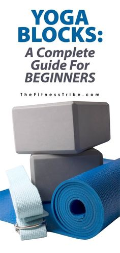 Exercise For Beginners Yoga Blocks: A Complete Guide For Beginners. Here you will find a knowledgeable guide to what yoga blocks are best.- The Fitness Tribe Yoga Beginners, Beginner Yoga, Workout For Beginners, Yoga For Beginners Flexibility, Yin Yoga, Yoga Meditation, Kundalini Yoga, Yoga Props, Yoga Block