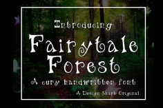 Fairytale Forest by crystal.baier on @creativemarket