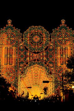 The Kobe Luminarie is a light festival held every December in Kobe, Japan.