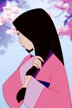 The flower that blooms in adversity is the most rare and beautiful of all. #Mulan