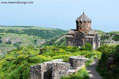 Historic, medieval Armenian church, Vahramashen.