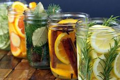 Room Scents in a Jar | #DIY #aromatherapy | Visit Personal Creations for 49 More creative uses for #masonjars | Create your own aromas in jars using natural ingredients for a fresh-smelling room natural room scent Recipes provided byThe Yummy Life