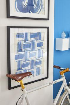 Die Gedanken und Blicke können sich bei dem fantasievollen Bild mit Rahmen »Macrame Blue« von G&C frei entfalten. Hierbei handelt es sich um einen hochwertigen Kunstdruck Lams. Die gelungenen Farbverläufe und die geschwungenen Formen geben Wand und Raum eine moderne Note.