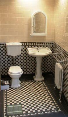 victorian bathroom - Google Search....floor concept