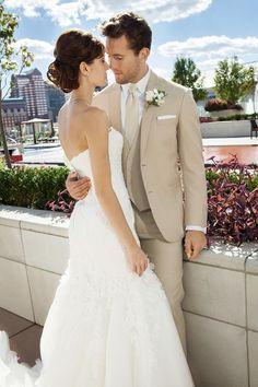 weißes Brautkleid Hochzeit