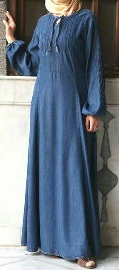 3-impressive-denim-style-abaya-6