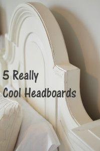 5 Cool DIY headboards