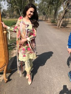 Asifa&Nabeel Pakistani Casual Wear, Asifa And Nabeel, Formal Outfits, Lawn Suits, Asian Style, Bollywood Fashion, Dress Pants, Kurti, Desi
