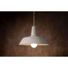 Baron hanglamp - antiek wit