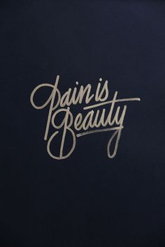 Typography Inspiration #005 // awww, lots of beauty in my life then... ^_^