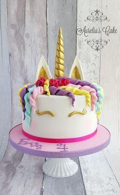 Unicorn cake :) by Aurelia's Cake