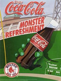 Coca-Cola 1990 - 1999 Coca Cola Drink, Coca Cola Bottles, Coca Cola History, World Of Coca Cola, Coca Cola Decor, Coca Cola Cake, Coke Ad, Pepsi, Poster