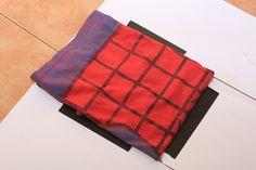 Fold a perfect tshirt to help with closet drawer or shelf organizing.  DIY How to Make a T Shirt Folder -- via wikiHow.com