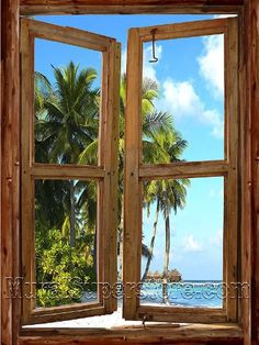Beach Cabin Window #1 Peel & Stick Wall Mural 36 Inches Wide X 48 Inches High Quick Murals http://www.amazon.com/dp/B004H9HCD8/ref=cm_sw_r_pi_dp_y3zSub0PSVT3N