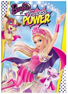 Barbie in Princess Power DVD Only $13.87!