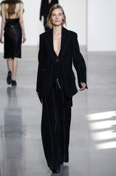 """Calvin Klein Collection RTW Fall 2016 """"justify my love"""""""