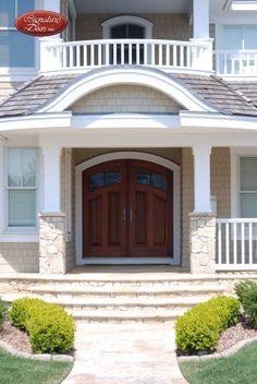 Sharp! Custom Wood Doors, Pergola, Garage Doors, Outdoor Structures, Windows, Outdoor Decor, House, Home Decor, Home